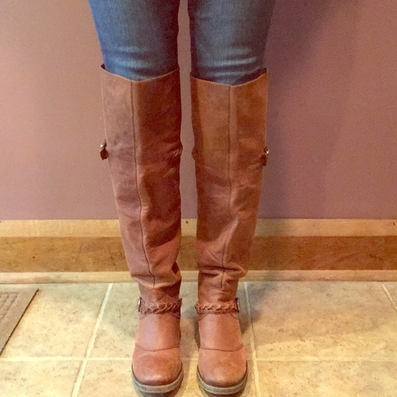 420810cd07d Lucky Brand Shoes - Lucky Brand Over the Knee Boots